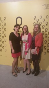 Paula, Sandra and Felicity at the award ceremony